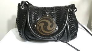 VTG Moon Bag By Patricia Smith  Leather Crossbody